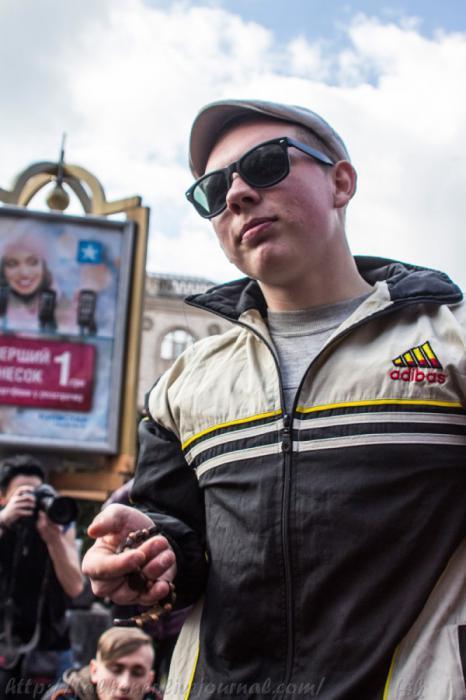 Парад гопников в Киеве