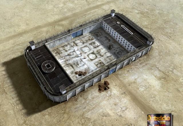 В плену у цивилизации: графические работы Felipe Luchi