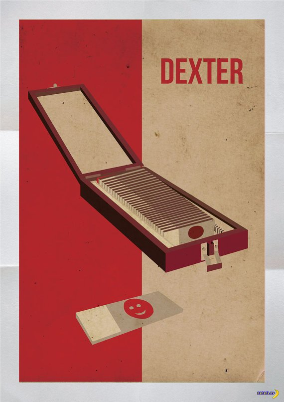 Фан-арт от любителей сериала Dexter