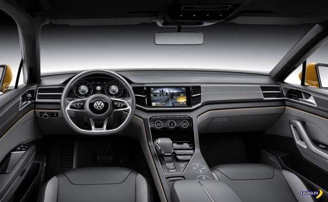Концепт Volkswagen CrossBlue Coupe
