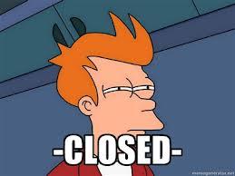 Futurama снова закрыта