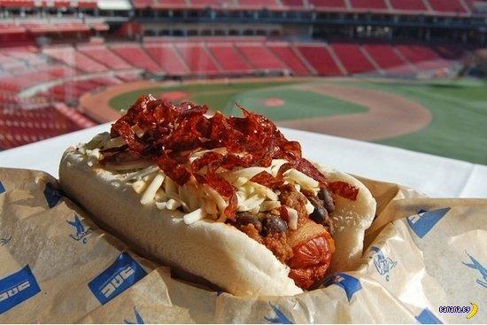 Что едят американцы на стадионах?