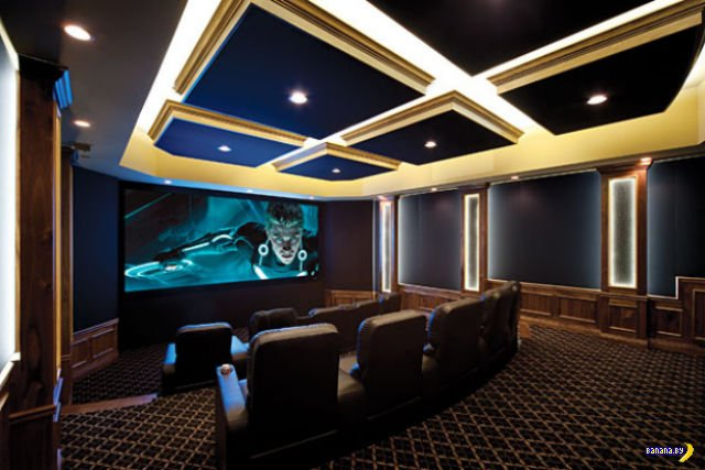 Домашние кинотеатры мечты
