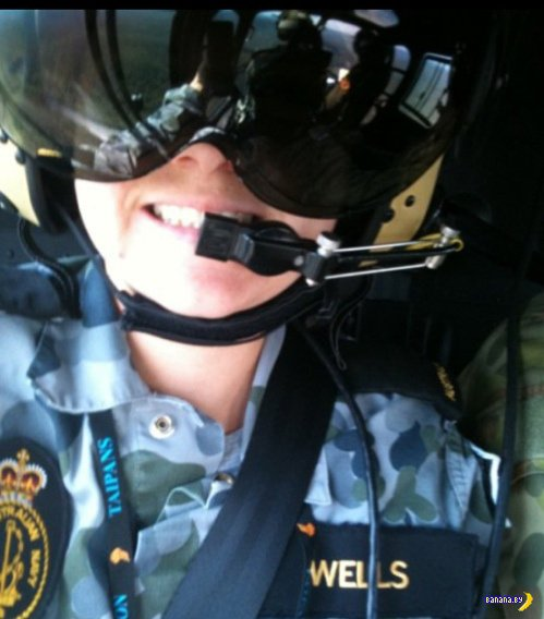 Симпатичное лицо австралийской военщины