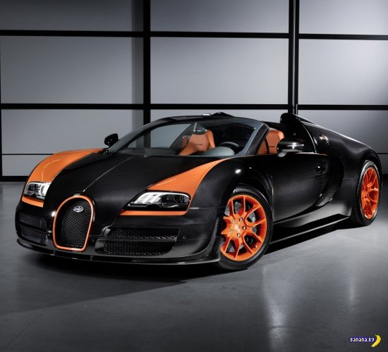 Bugatti Veyron Grand Sport World Record edition