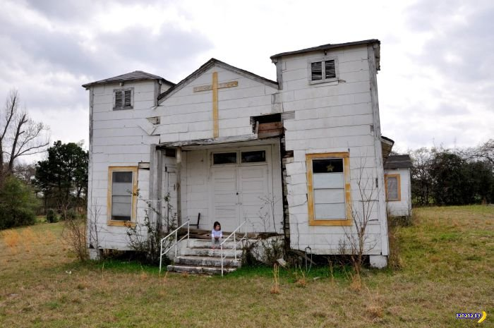 После людей: фотографии заброшенных мест