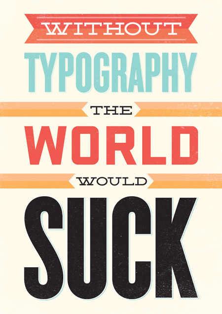 28 изумительных примеров типографики
