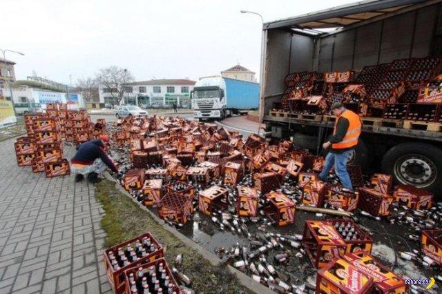 Страшная авария в Чехии