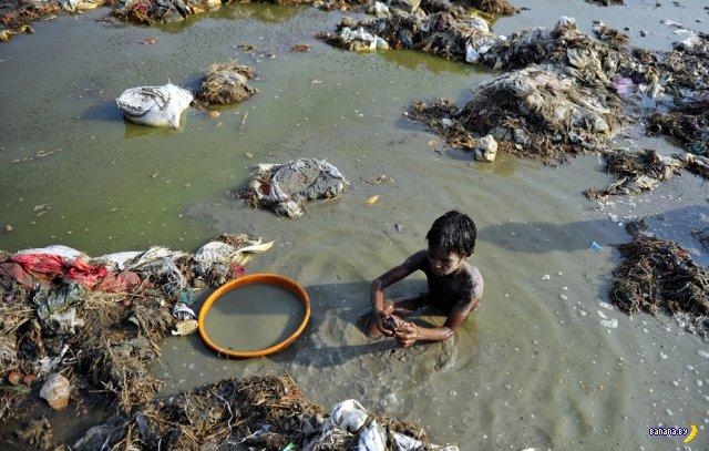 Добыча золота в Ганге