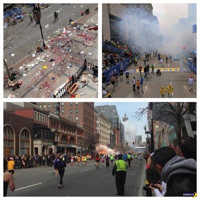 Взрывы прогремели у финишной черты Бостонского марафона, есть пострадавшие