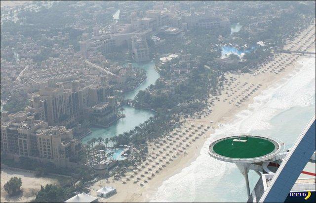 Дубаи: вид сверху