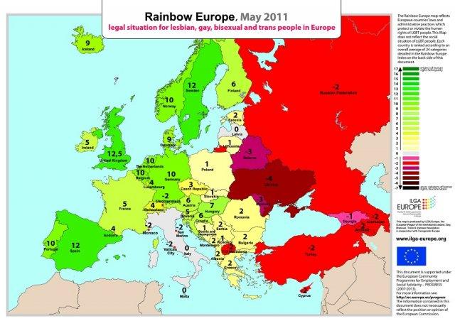 Инфографика о сексменьшинствах
