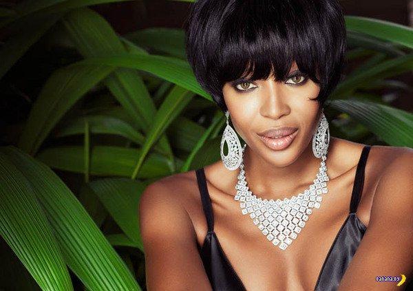 Наоми Кэмпбэлл в Vogue Brazil