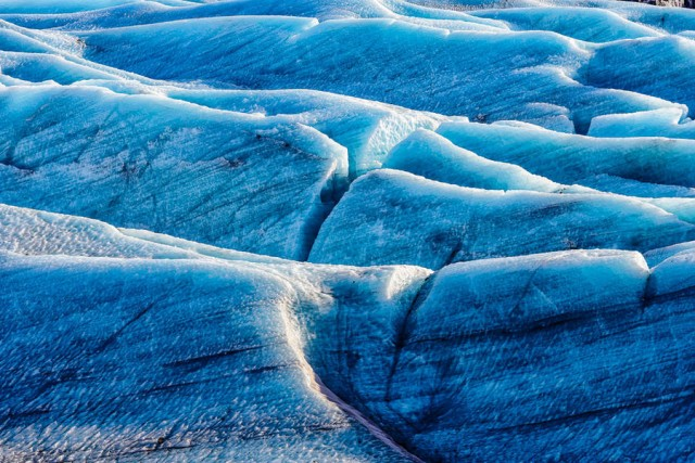 Ледовые красоты Исландии