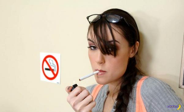 Оральный секс помогает бросить курить!