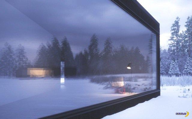 Загородные дома как НЛО