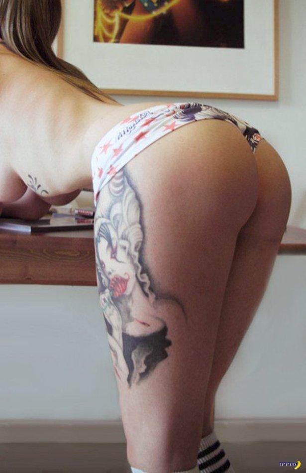 Красивые девушки в нижнем белье - 12