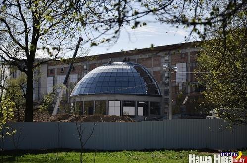 Лукашенко: Новая резиденция президента будет называться «Дворец независимости»