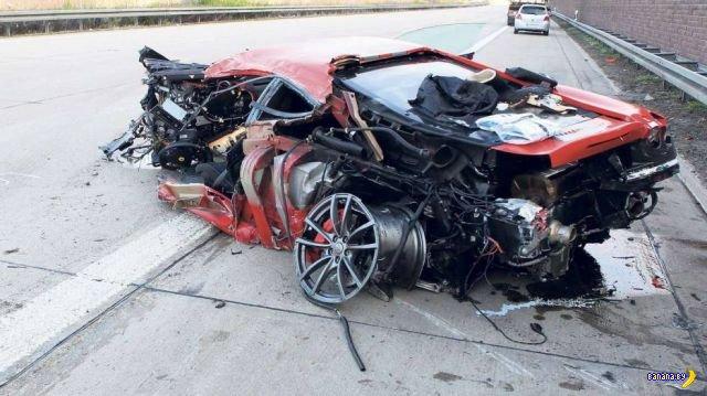 А зачем еще Ferrari 430 Scuderia, если не для полетов?