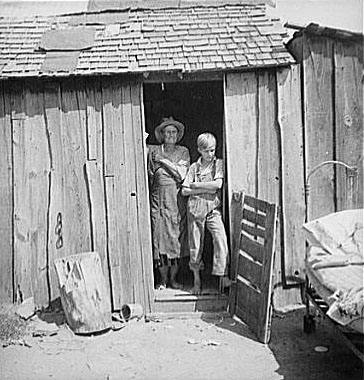 Как жили крестьяне на американском Западе в 30-х?