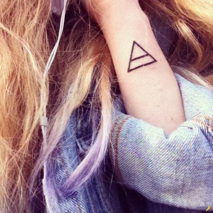Геометрические татуировки