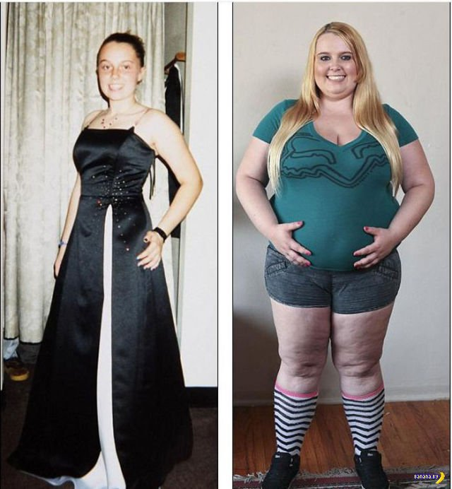 И снова про модель-толстушку