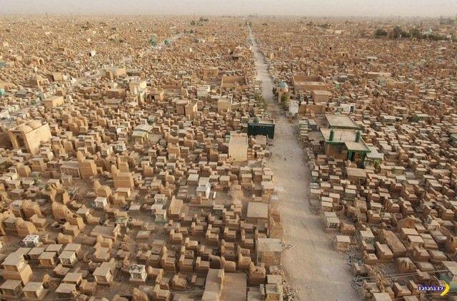 Самое большое кладбище в мире