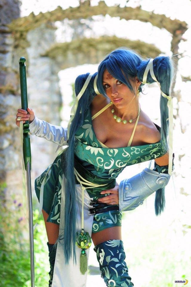 Косплей-богиня Giorgia Vecchini