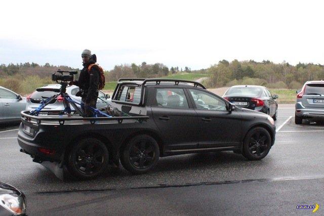 Шестиколесный Volvo XC60