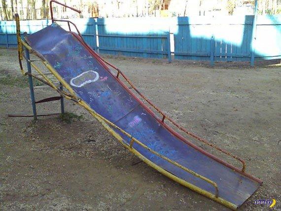 Ад российских площадок для детей