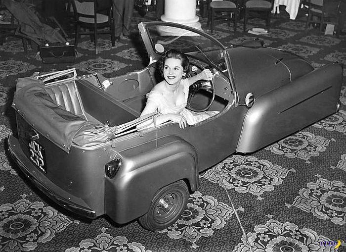Самые необычные ретро автомобили
