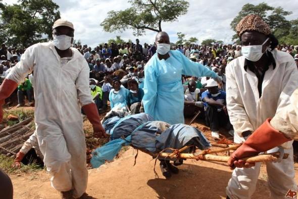 В Зимбабве на собственных похоронах ожил «труп»