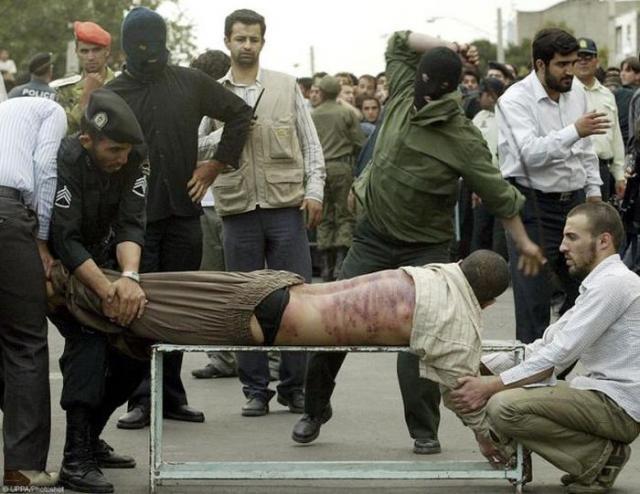 Суровое иранское правосудие