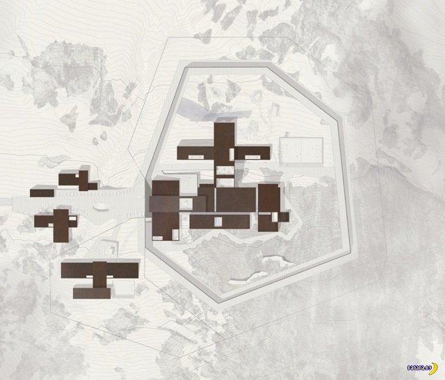 Комплекс уютных здании в Нууке