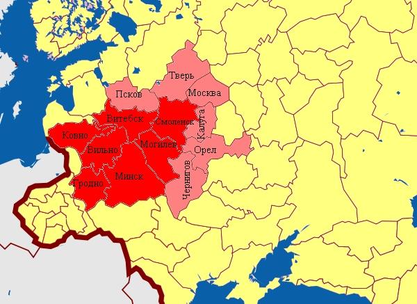 Даль о границе белорусского языка и его влиянии на русский