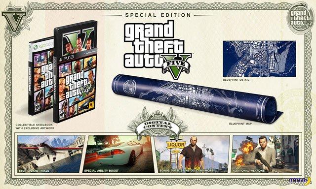 Grand Theft Auto 5 [Специальное и Коллекционное издания]