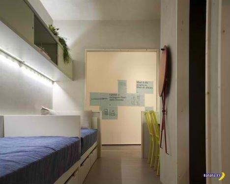 Миниатюрная квартира от супер-специалистов