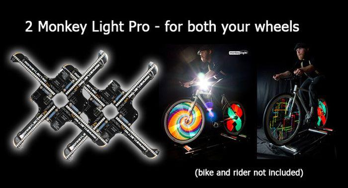 Monkey Light на велосипед