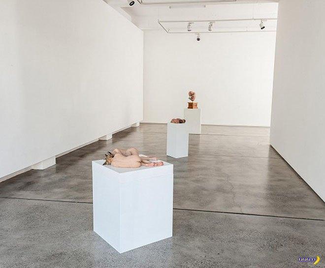 Мерзость и натурализм скульптур Сэма Джинкса