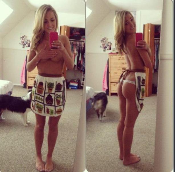 Красивые девушки в нижнем белье - 13