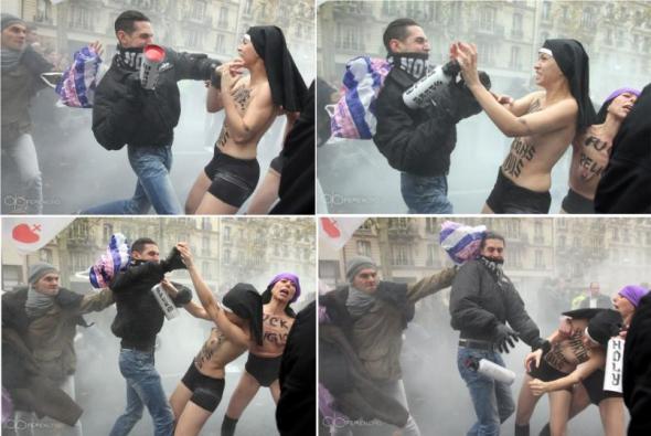 Рассказ лазутчицы в рядах Femen