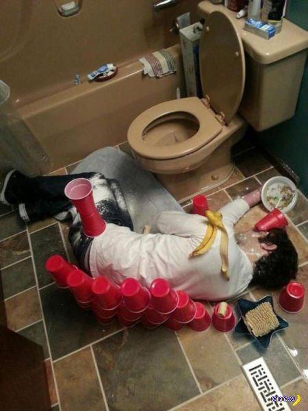 Пьянь такая! - Самое жесткое