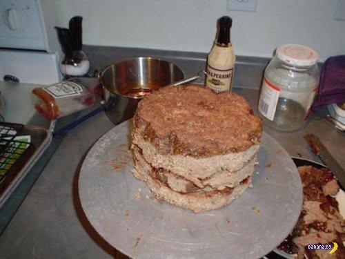 Торт для реальных пацанов