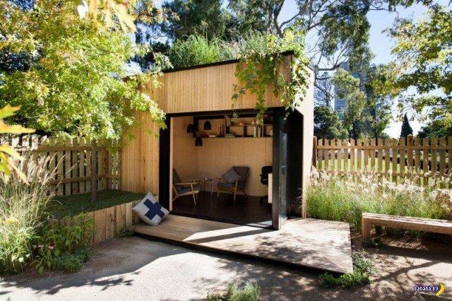 Убежище на заднем дворе