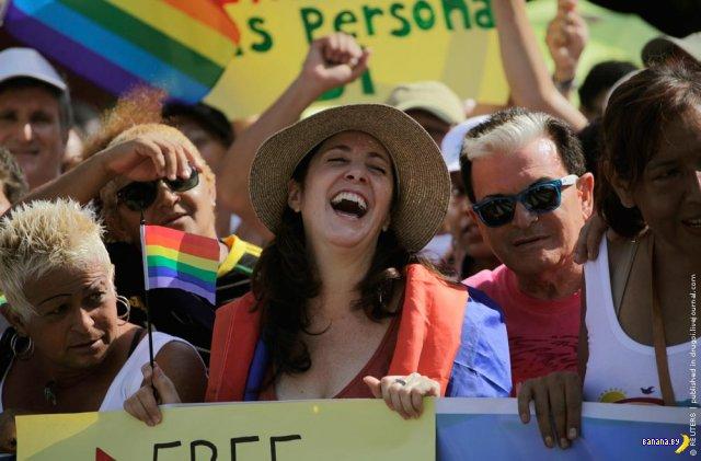 «Нет гомофобии! Да социализму!»