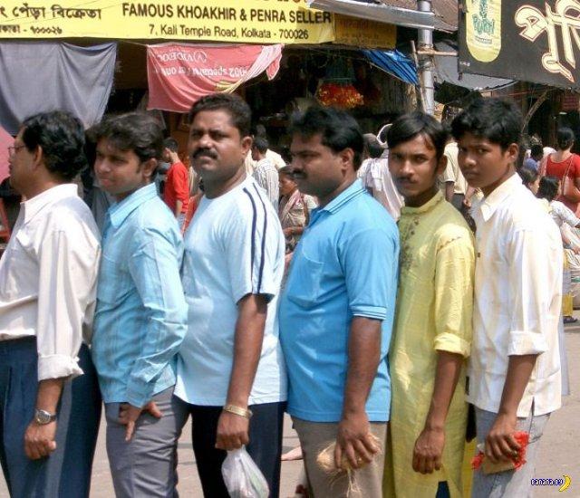 Очереди в Индии