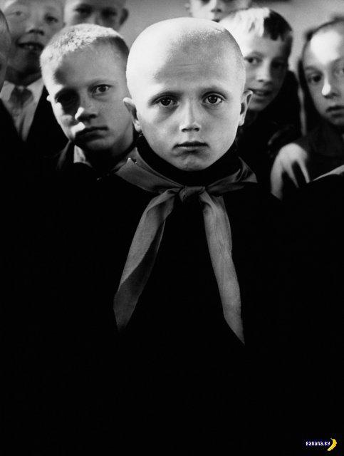 Слепой пионер. Каунас, 1962