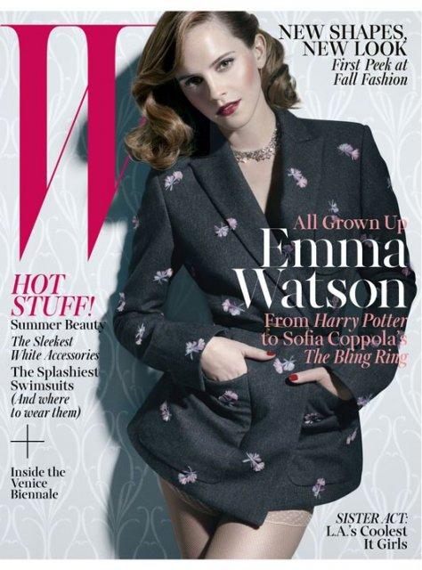 Эмма Уотсон в W Magazine