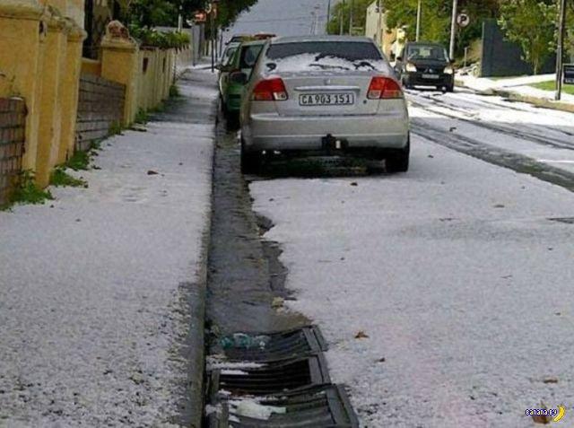 Снег в ЮАР