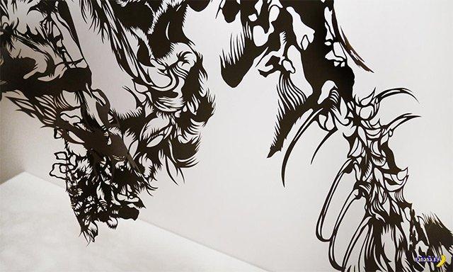 Мастерица вырезания Нахоко Кодзима